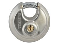Faithfull Stainless Steel Discus Padlock 70mm